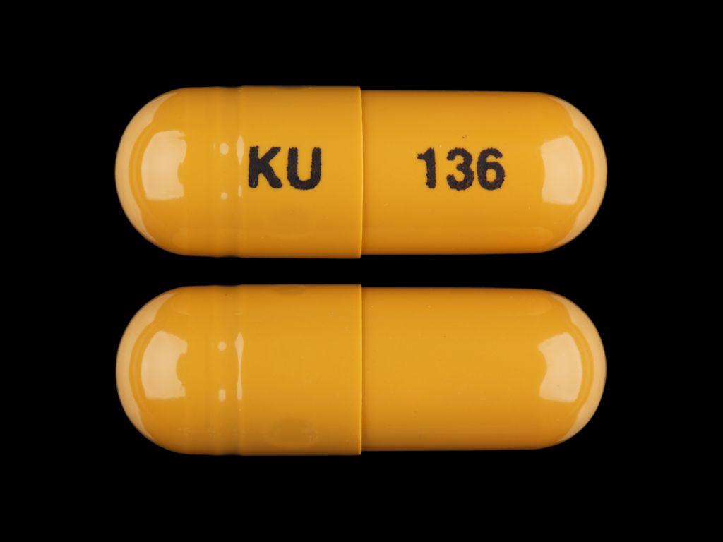 Omeprazole capsule, delayed release - (omeprazole 40 mg) image