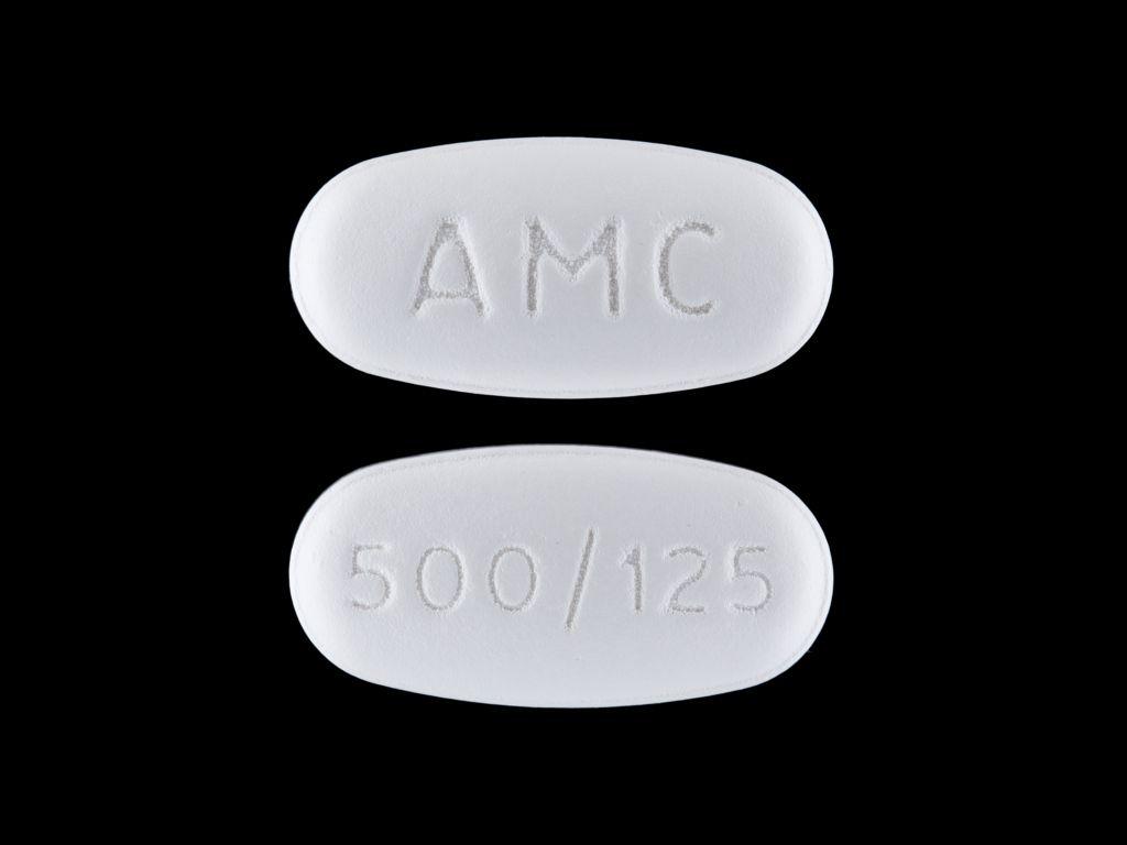 Amoxicillin and Clavulanate Potassium powder, for suspension - (amoxicillin 500 mg clavulanate potassium 125 mg) image