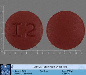 AMITRIPTYLINE HYDROCHLORIDE tablet, film coated - (amitriptyline hydrochloride 150 mg) image